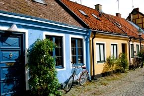Ystad street. Photo: Karen Dion