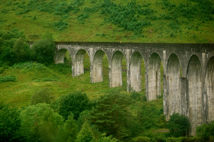 Glenfinnan Viaduct. Photo: author