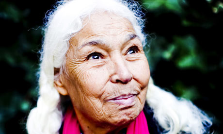 Nawal el-Saadawi. Photo via The Guardian http://www.guardian.co.uk/world/2011/mar/08/nawal-el-saadawi-100-women