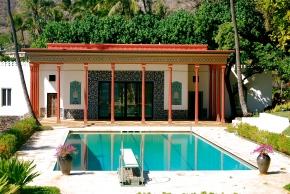 Pool at Doris Duke's house, O'ahu