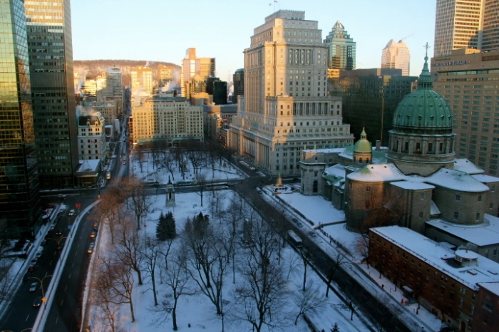 hotel, Marriott, Montreal