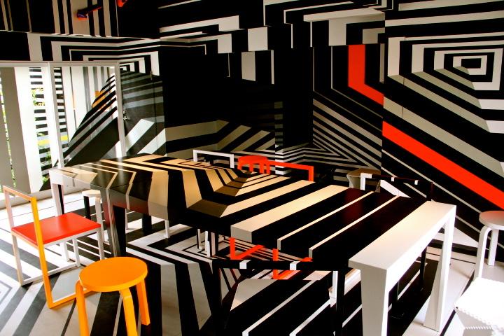 Il Vento by Tobias Rehberger, Teshima