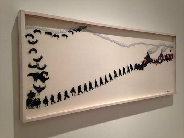 Crows by Britta Marakatt-Labba