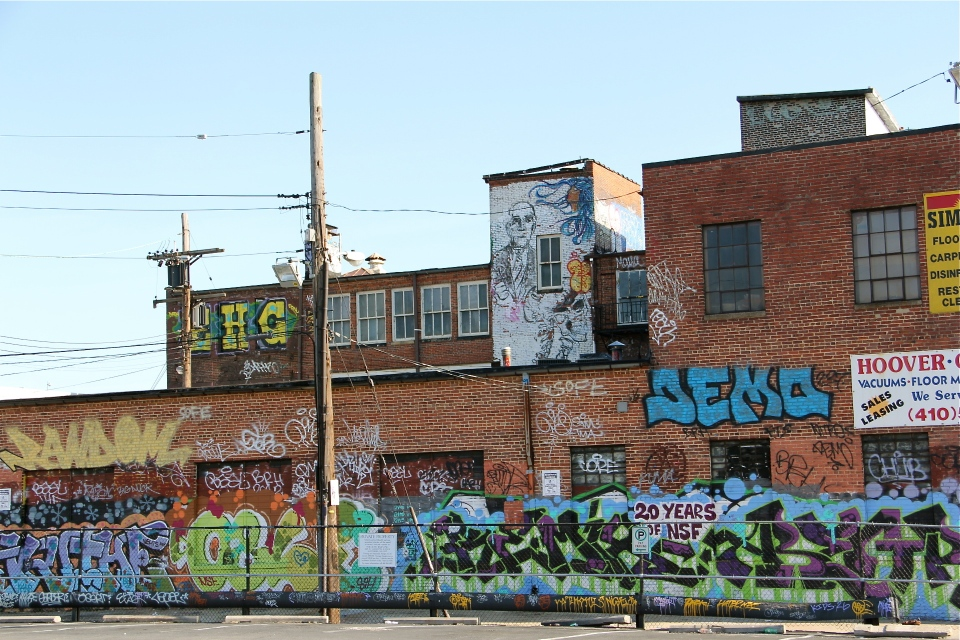 Graffiti Alley.
