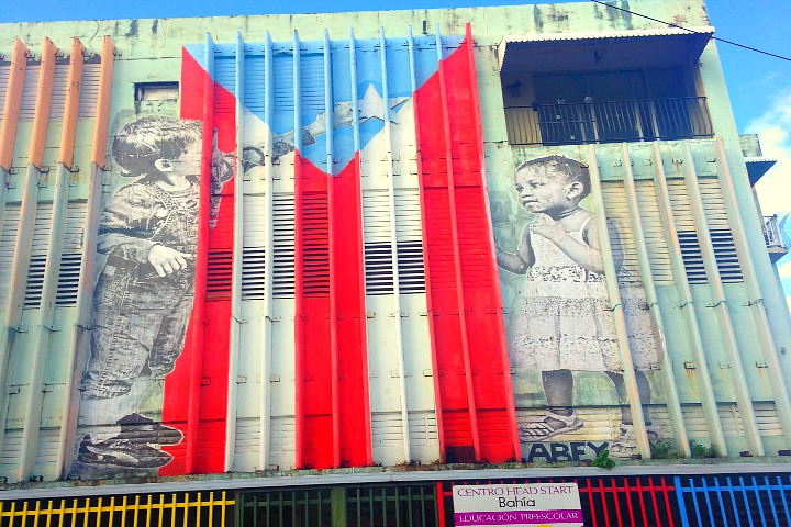 Abey Charron in San Juan. November 2014.