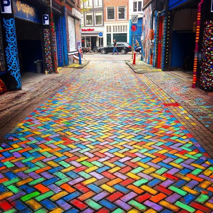 Hero de Janeiro, Amsterdam.