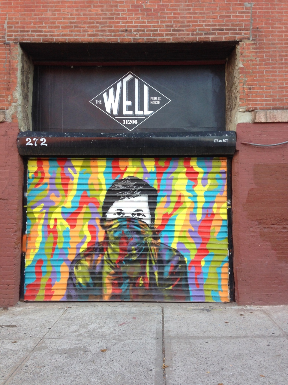 Icy and Sot in Brooklyn. October 2014.