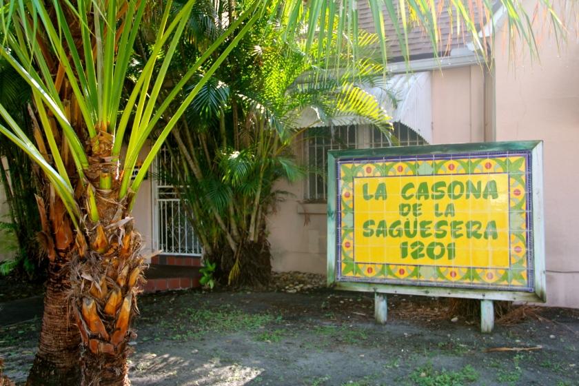 La casona de la sagüesera, Little Havana, Miami