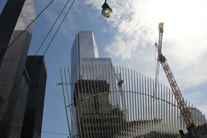The Oculus in construction