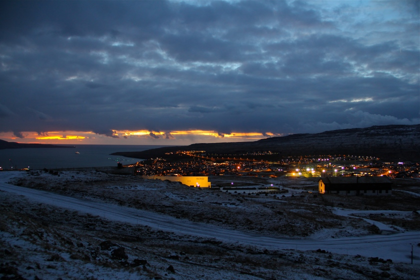 Tórshavn. 9:30am
