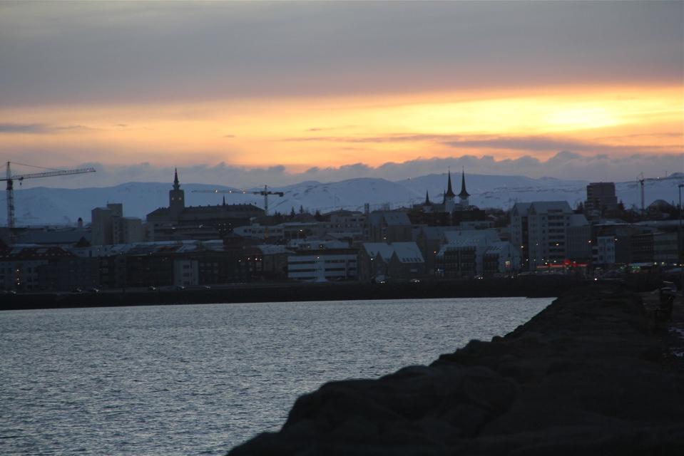 Reykjavik-Harpa-Hallgrimskirkja
