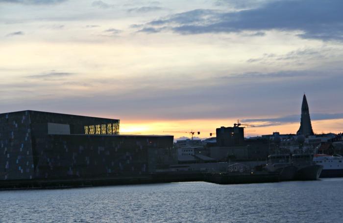 ReykjavikMorningHallgrimskirkjaHarpa