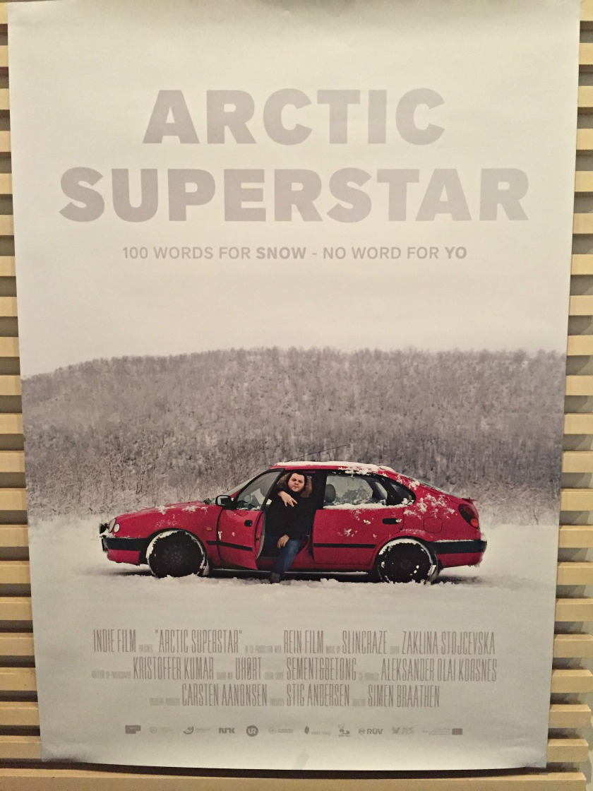 Poster for Arctic Superstar at Scandinavia House